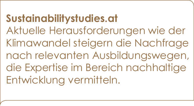 Sustainabilitystudies.at